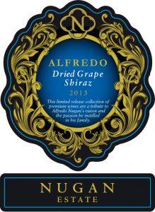 Nugan Estate Alfredo Dried Grape Shiraz 2013 Hi-Res Label