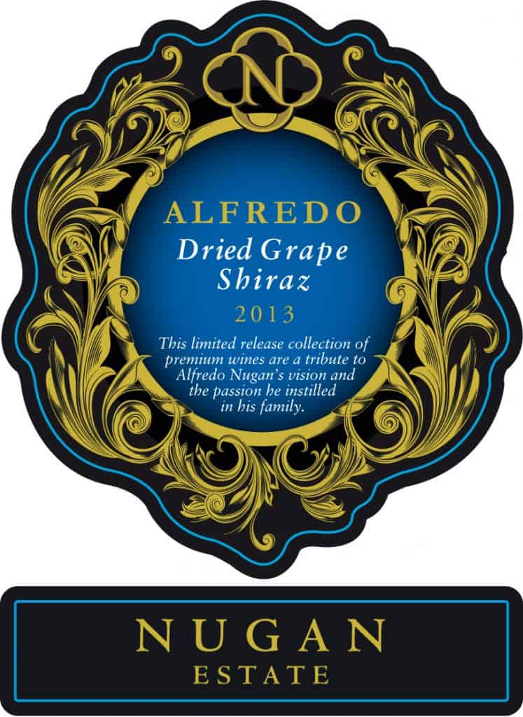 Nugan Estate Alfredo Dried Grape Shiraz 2013 Hi-Res Label