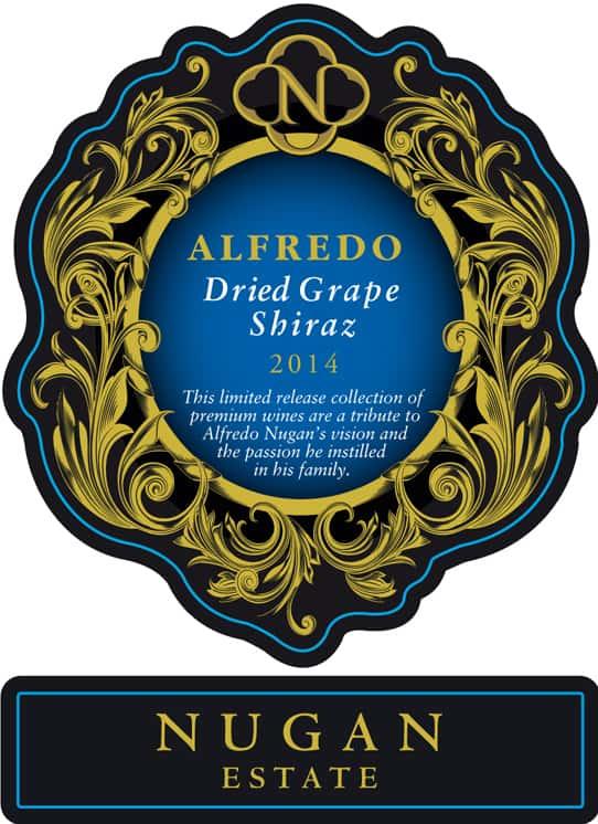 Nugan Alfredo Dried Grape Shiraz 2014 Hi-Res Label