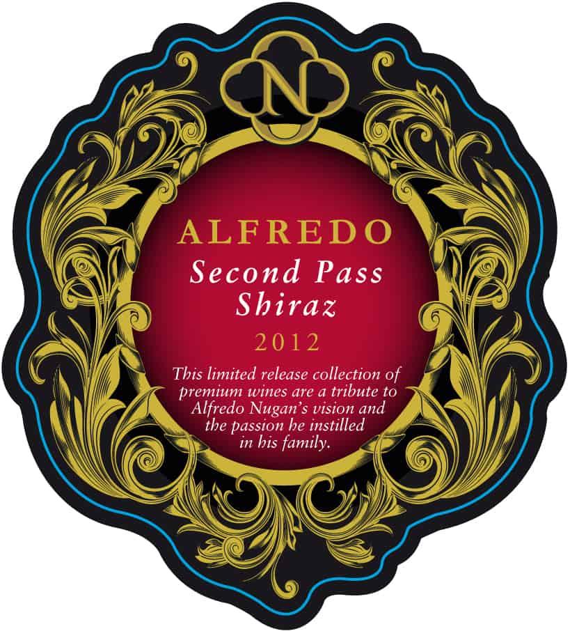 Nugan Estate Alfredo Second Pass Shiraz 2012 Hi-Res Label