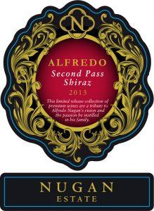 Nugan Estate Alfredo Second Pass Shiraz 2013 Hi-Res Label