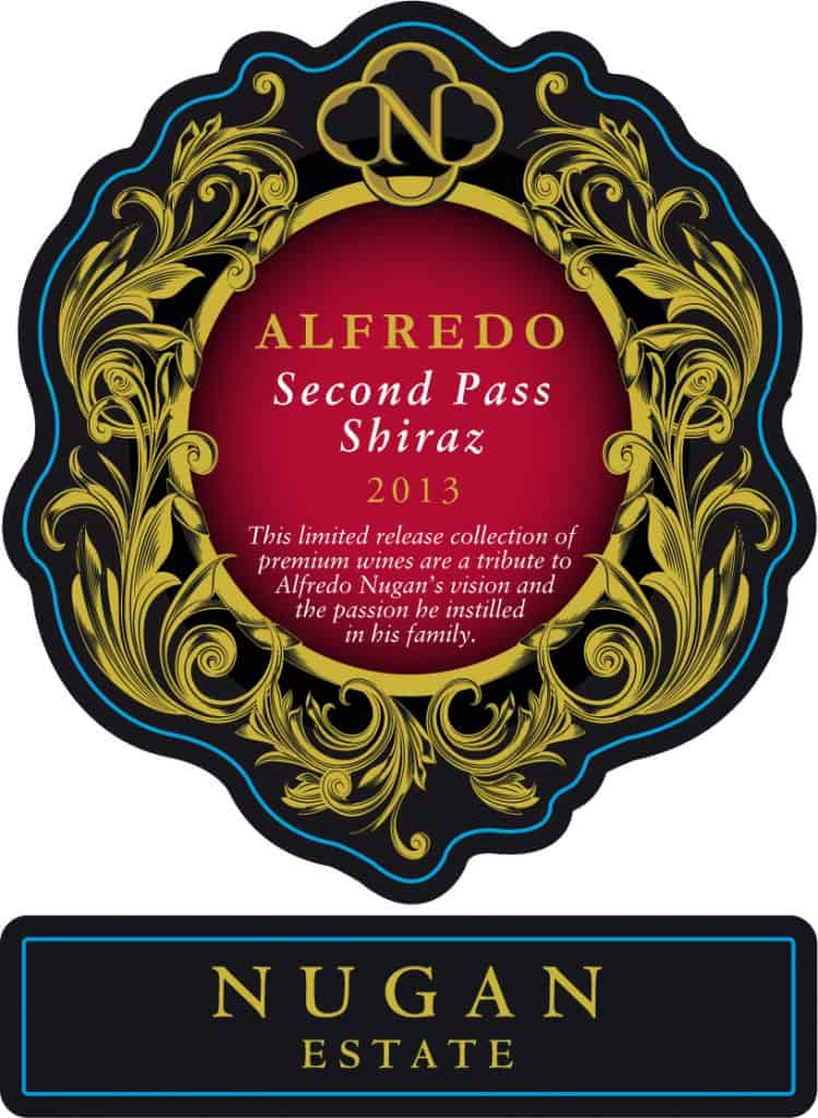 Nugan Estate Alfredo Second Pass Shiraz 2013 Hi-Res Label
