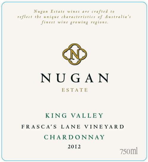 Nugan Estate Frasca's Lane Chardonnay 2012 Hi-Res Label