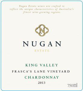 Nugan Estate Frasca's Lane Chardonnay 2013 Hi-Res Label