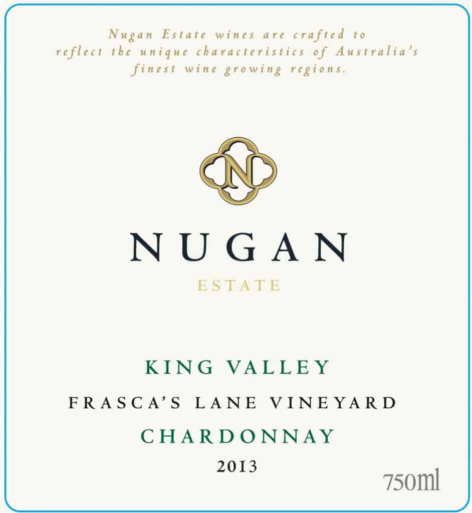 Nugan Estate Frasca's Lane Chardonnay 2013 Hi-Res Label