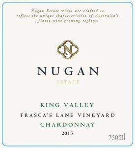 Nugan Estate Frasca's Lane Chardonnay 2015 Hi-Res Label