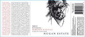 Nugan Estate Scruffys Shiraz 2013 Hi-Res Label