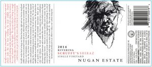Nugan Estate Scruffys Shiraz 2014 Hi-Res Label
