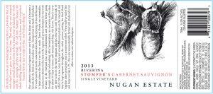 Nugan Estate Stompers Cabernet Sauvignon 2013 Hi-Res Label
