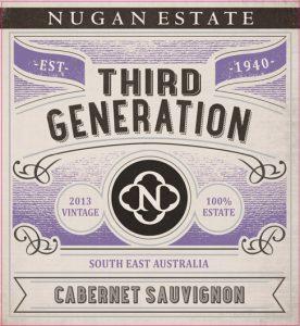 Nugan Estate Third Generation Cabernet Sauvignon 2013 Hi-Res Label