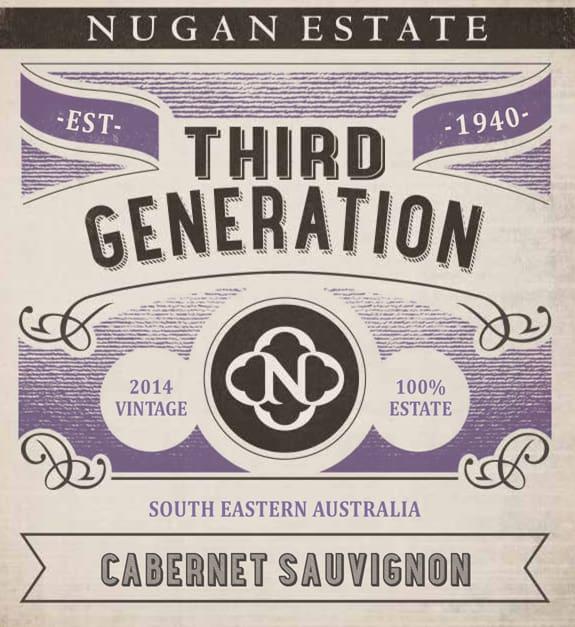 Nugan Estate Third Generation Cabernet Sauvignon 2014 Hi-Res Label