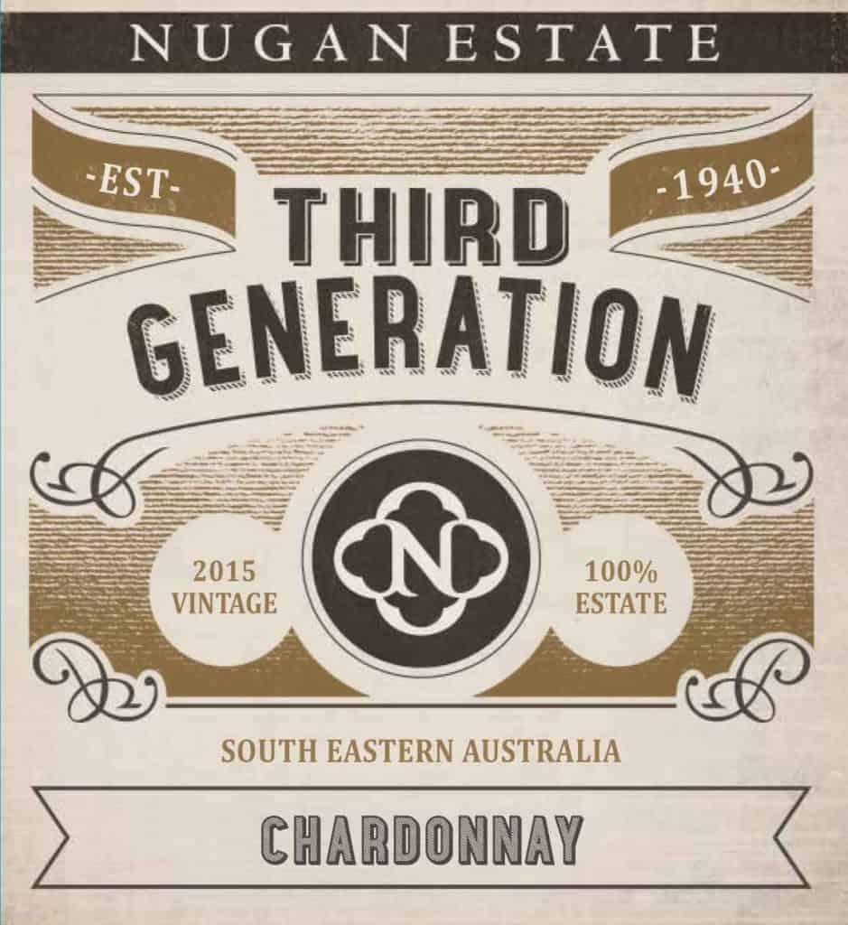 Nugan Estate Third Generation Chardonnay 2015 Hi-Res Label