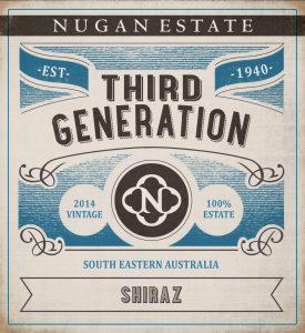 Nugan Estate Third Generation Shiraz 2014 Hi-Res Label