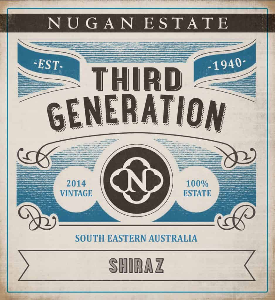 Nugan Estate Third Generation Shiraz 2014 Hi-Res Label