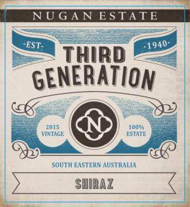 Nugan Estate Third Generation Shiraz 2015 Hi-Res Label