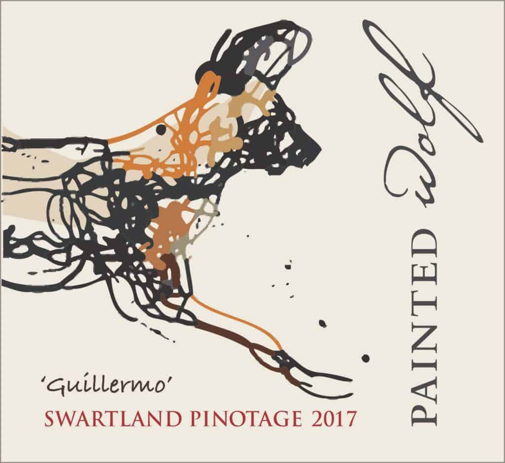 Painted Wolf Guillermo Pinotage 2017 Hi-Res Image