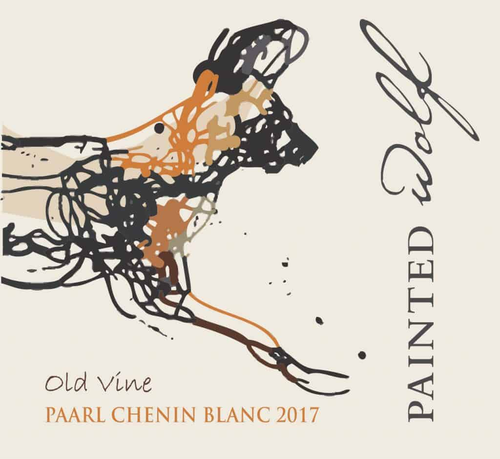 Painted Wolf Old VIne Chenin Blanc 2017 Hi-Res Label