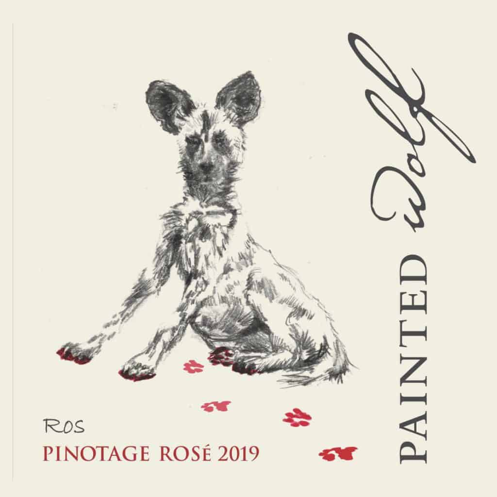 Painted Wolf Pinotage Rose 2019 Hi-Res Image