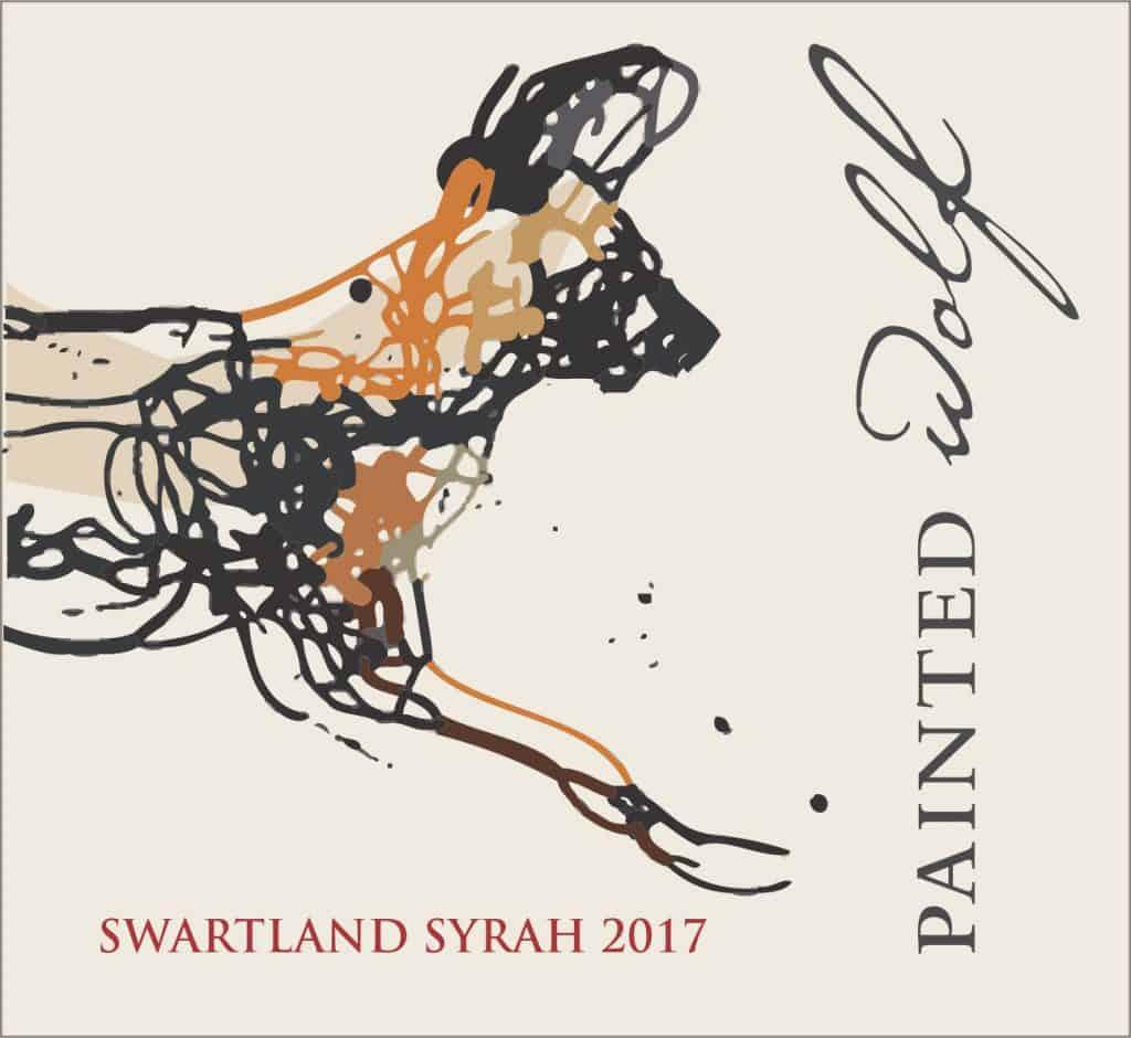 Painted Wolf Syrah 2017 Hi-Res Label