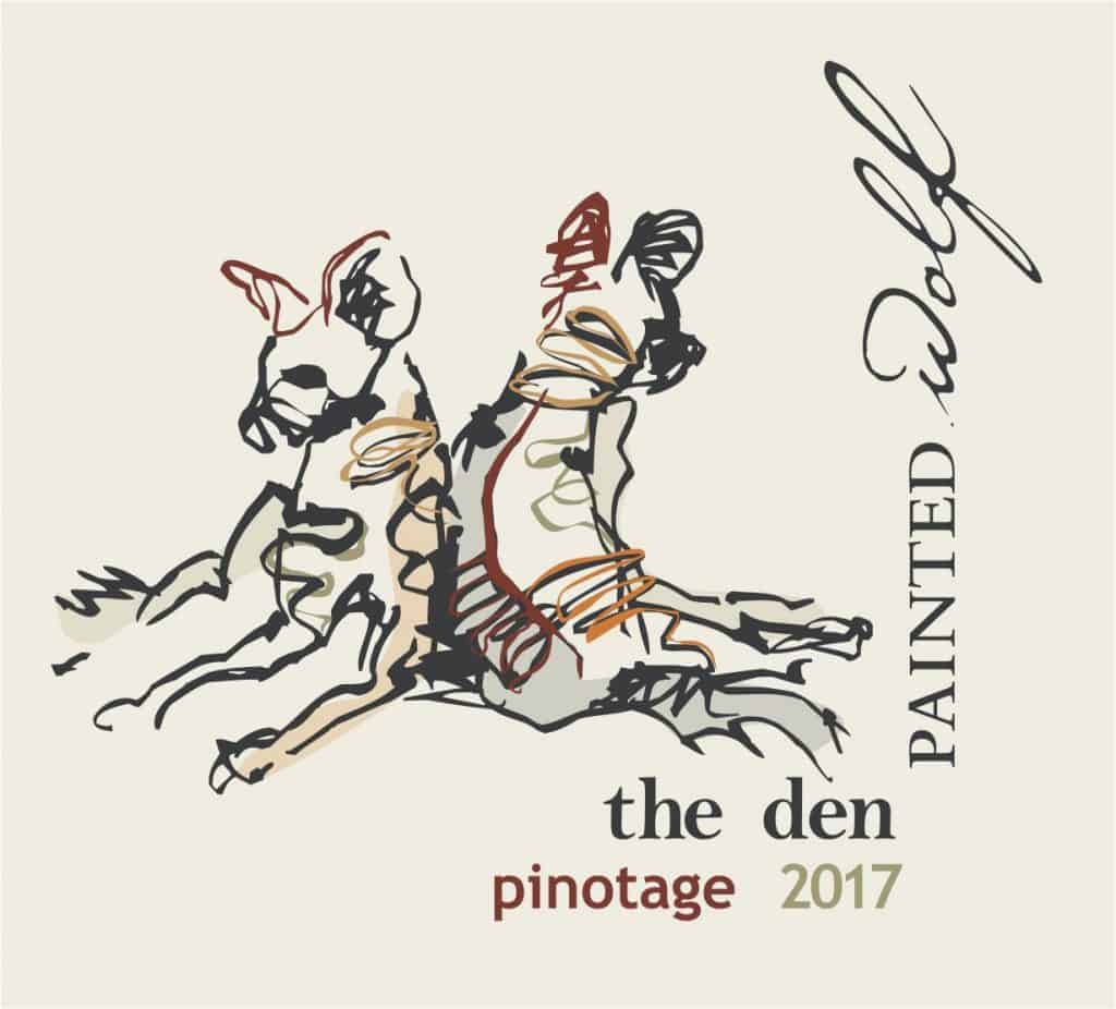 Painted Wolf The Den Pinotage 2017 Hi-Res Image