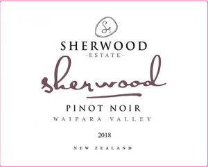 Sherwood Pinot Noir 2018 Hi-Res Label