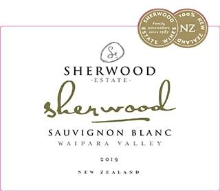 Sherwood Sauvignon Blanc 2019 Hi-Res Label