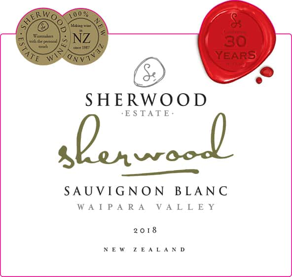 Sherwood Signature Sauvignon Blanc 2018 Hi-Res Label