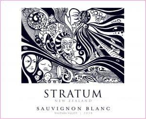 Stratum Sauvignon Blanc 2018 Hi-Res Label