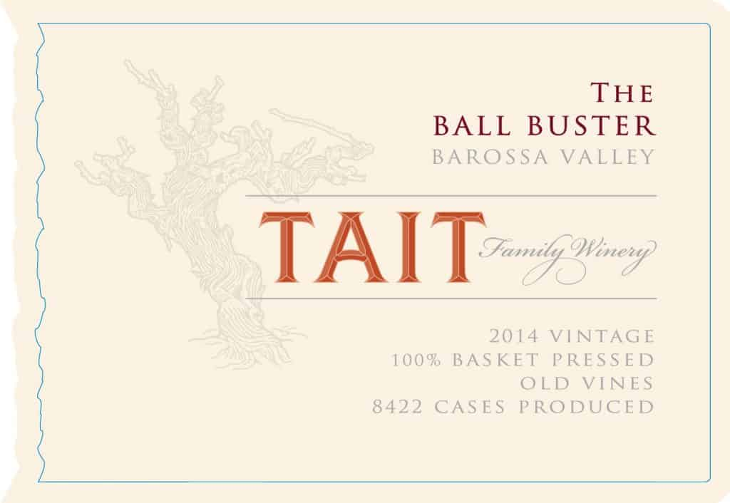 Tait The Ball Buster 2014 Hi-Res Label