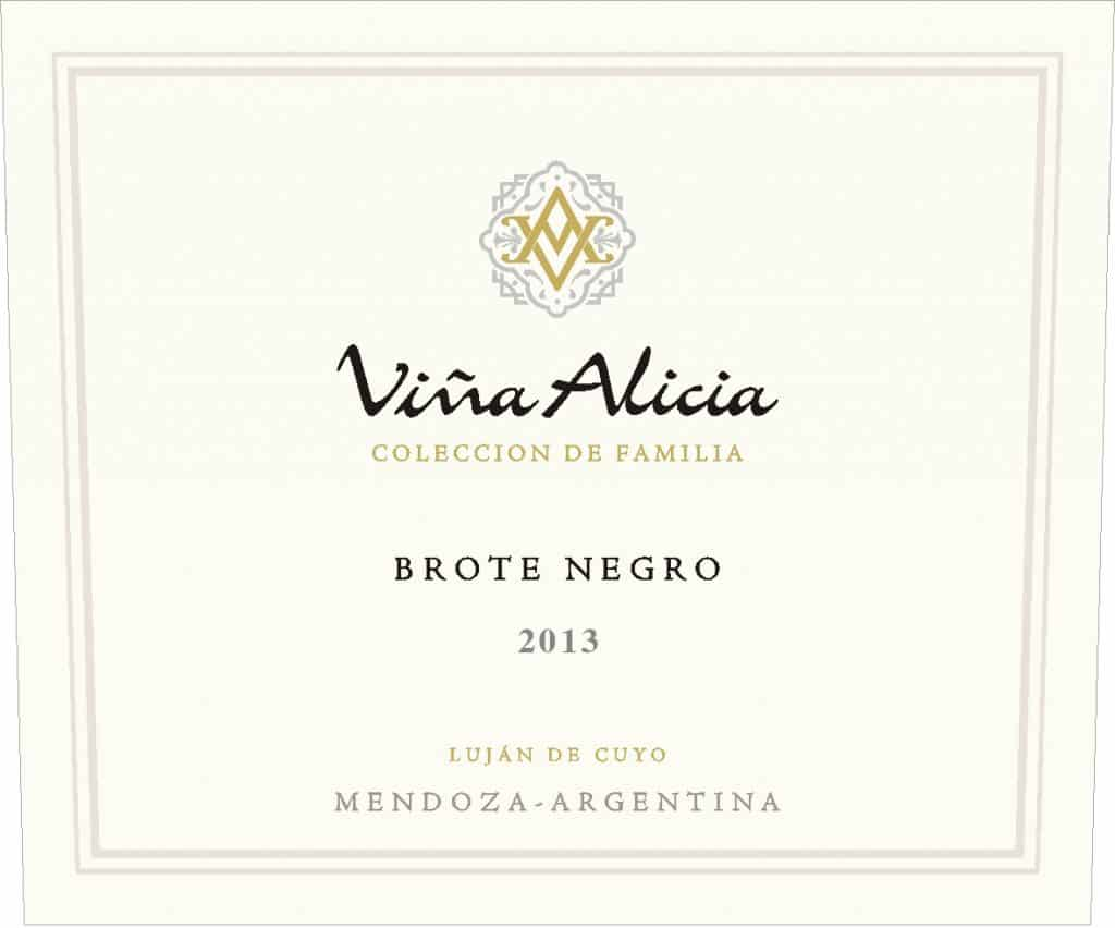Vina Alicia Brote Negro Malbec 2013 Hi-Res Label