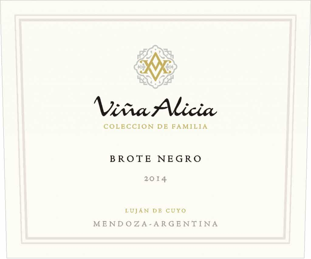 Vina Alicia Brote Negro Malbec 2014 Hi-Res Label