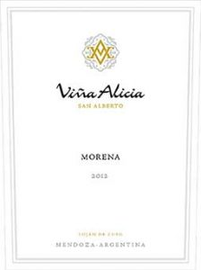 Vina Alicia Morena 2012 Hi-Res Label