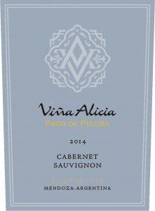 Vina Alicia Paso de Piedra Cabernet Souvignon 2014 Hi-Res Label