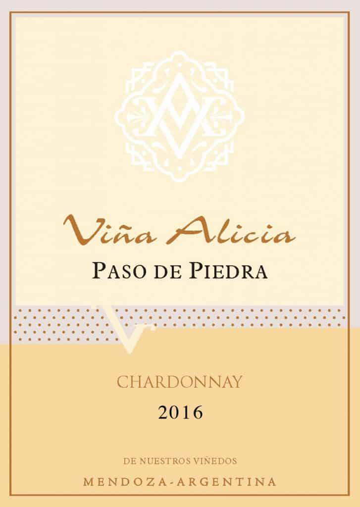 Vina Alicia Paso de Piedra Chardonnay 2016 Hi-Res Label