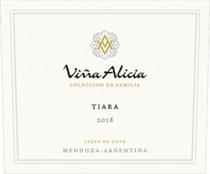 Vina Alicia Tiara 2018 Hi-Res Label
