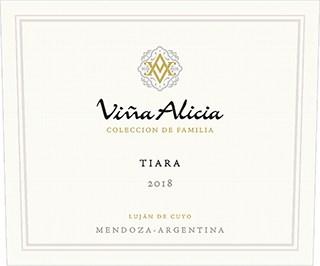 Vina Alicia Tiara 2018 Hi-Res Label