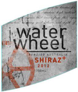 Water Wheel Shiraz Plus 2012 Hi-Res Label