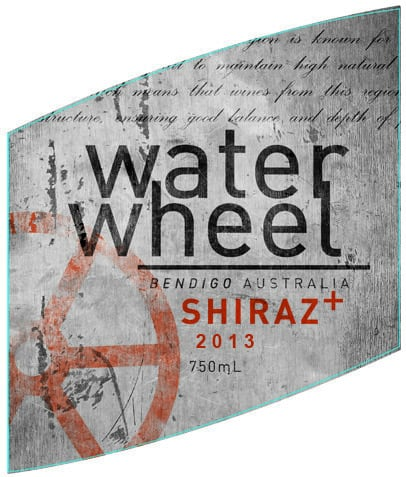 Water Wheel Shiraz Plus 2013 Hi-Res Label