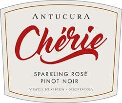 Antucura Cherie Sparkling Rose Pinot Noir