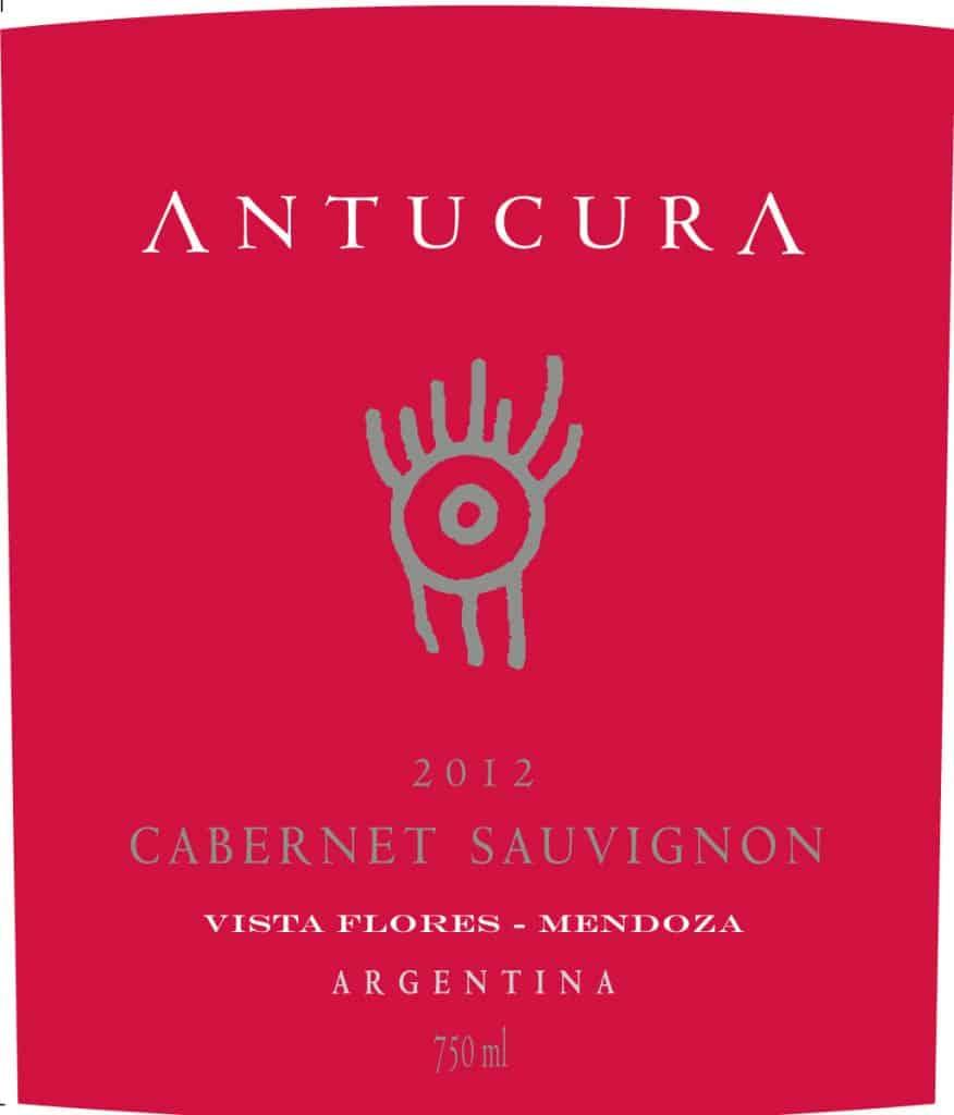 Antucura Cabernet Sauvignon 2012 Hi-Res Label