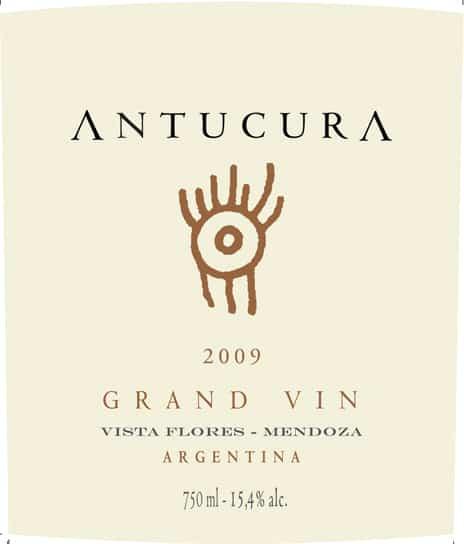 Antucura Gran Vin 2009 Hi-Res Label