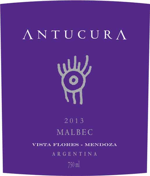 Antucura Malbec 2013 Hi-Res Label
