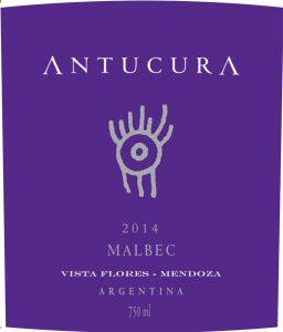 Antucura Malbec 2014 Hi-Res Label