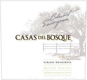 Casa del Bosque Gran Reserva Cabernet Sauvignon 2013 Hi-Res Label
