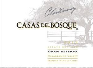 Casas del Bosque Gran Reserva 2012 Hi-Res Label