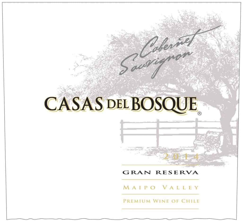 Casas del Bosque Gran Reserva Cabernet Sauvignon 2014 Hi-Res Label