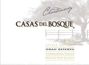 Casas del Bosque Gran Reserva Chardonnay 2013 Hi-Res Label