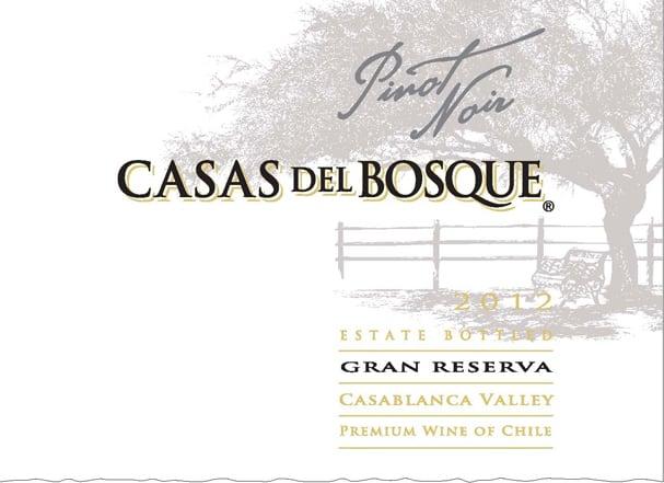 Casas del Bosque Gran Reserva Pinot Noir 2012 Hi-Res Label