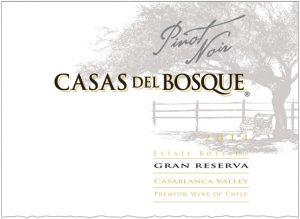 Casas del Bosque Gran Reserva Pinot Noir 2014 Hi-Res Label
