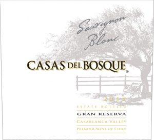 Casas del Bosque Gran Reserva Sauvignon Blanc 2012